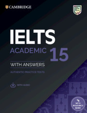 Cambridge IELTS 15 for Academic students | Download in 5 seconds