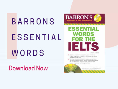 Barron's essential words for the ielts:  buy at a very high discount
