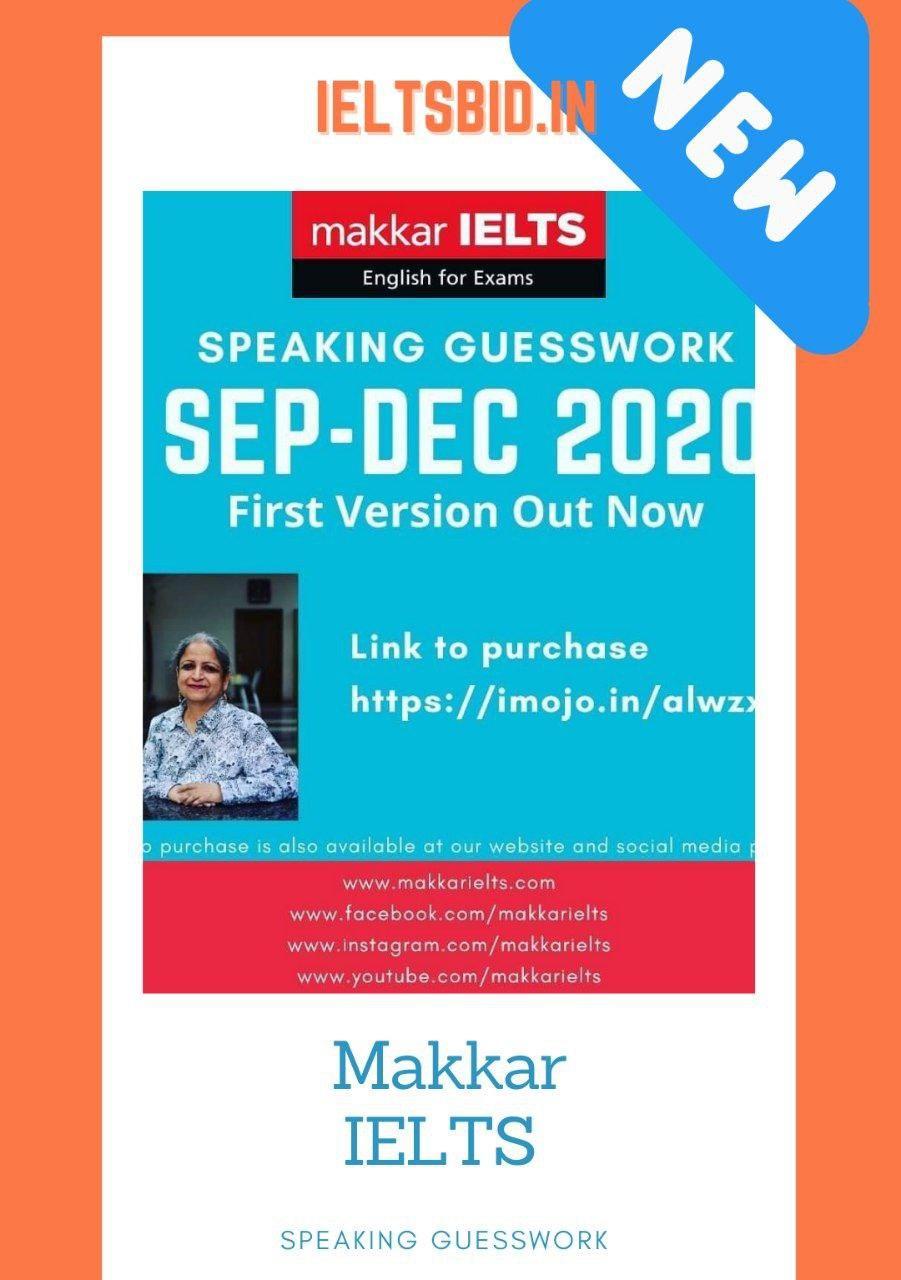 makkar ielts speaking guesswork spet-dec