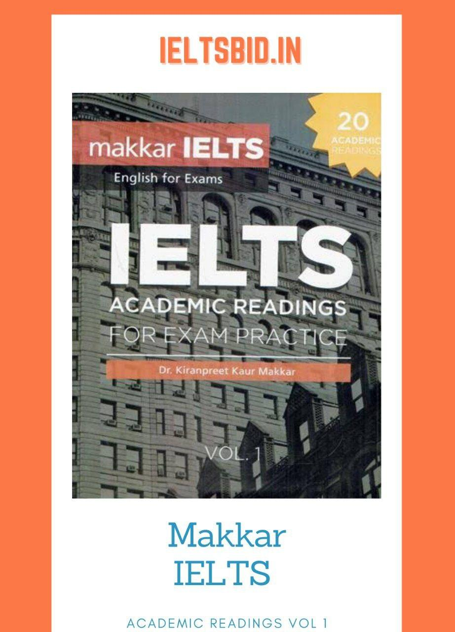 Makkar ielts acasemic readings vol 1